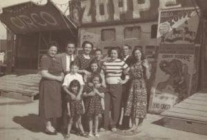 Alberto Zoppé and family